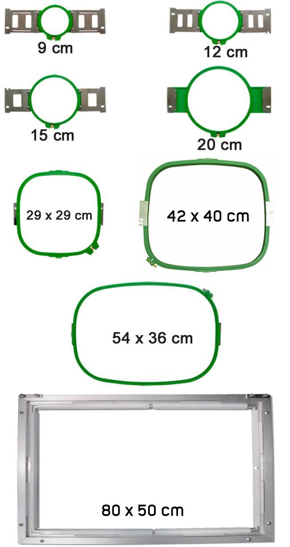 Ricoma SWD Serie - Einkopf-Stickmaschine mit extra großem Stickfeld