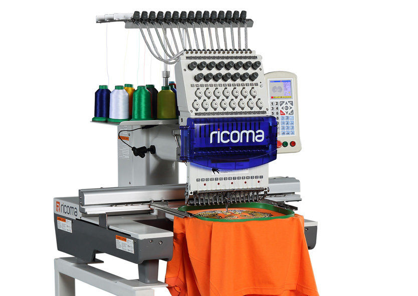 Ricoma PT Series - 4 Inch Display Single Head Embroidery Machines
