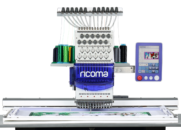 Ricoma SWD Series - 8 Inch Touch Screen Embroidery Machines for Hobbyists and Beginners